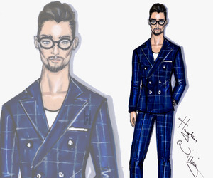 hayden williams and David Gandy image