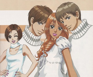 peach girl and anime image