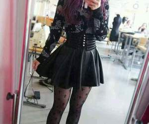 goth and hair image
