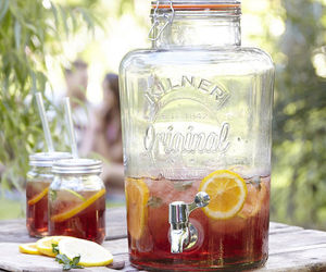 garden party, lemons, and party image