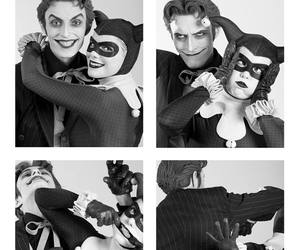 harley quinn, joker, and cosplay image