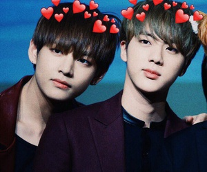 handsome, icons, and jin image