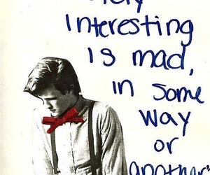 doctor who, quotes, and mad image