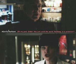 abby, ncis, and gibbs image