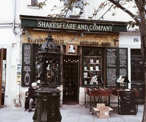 book, read, and shakespeare and company image