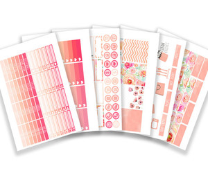erin condren, planner stickers, and planner kits image