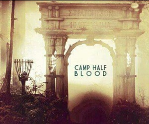 percy jackson and camp half blood image