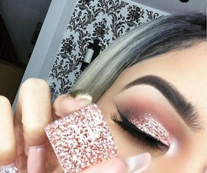 cosmetic, eye shadow, and fashion image