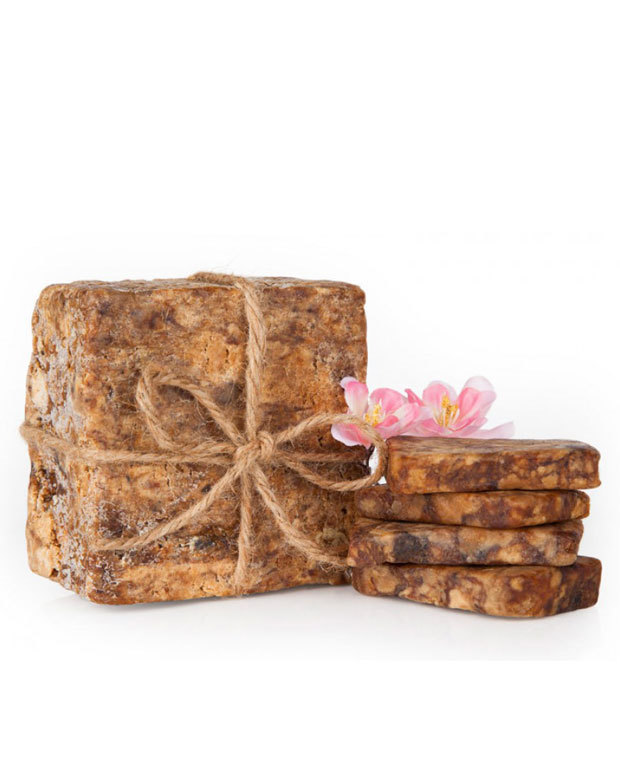benefits of black soap, raw african black soap, and african black soap acne image