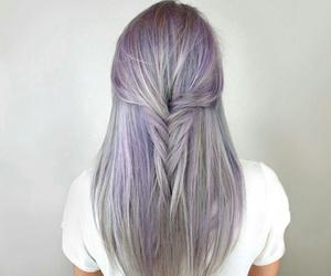 girl, granny, and hair image