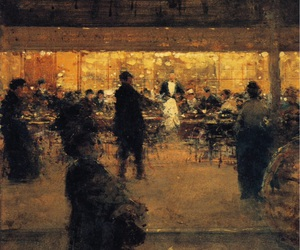 art, luigi loir, and the night café image