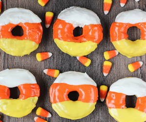 donuts, Halloween, and dessert image