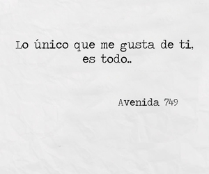 frases, amor, and avenida 749 image