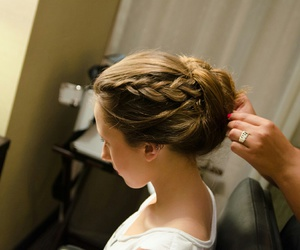beatiful, hairstyle, and style image