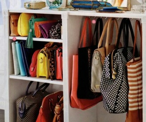 bags, storage, and decor image