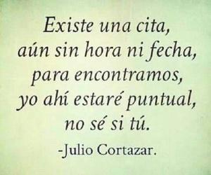 amor, julio cortazar, and cita image