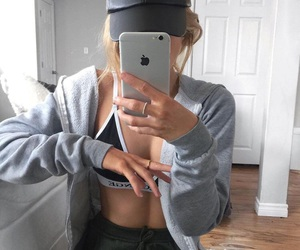 bra, iphone, and fashion image