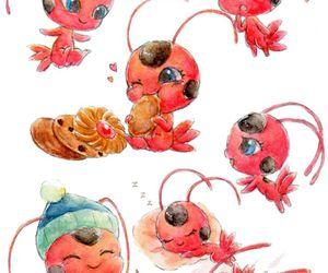 tikki, miraculous ladybug, and ladybug image