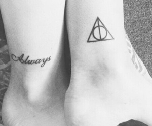 always, harrypotter, and tattoo image