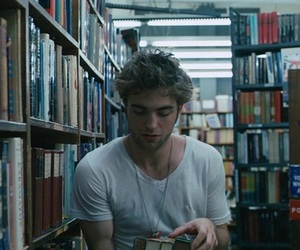 books, library, and movies image