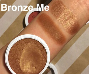 beauty, makeup, and bronzer image