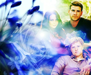 the hunger games, peeta mellak, and josh hutcherson image