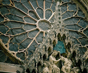 architecture, cathedral, and gothic image