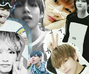 Collage, korean, and bts image