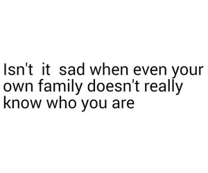 family, sad, and quote image