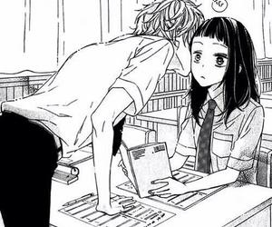 manga, love, and kiss image