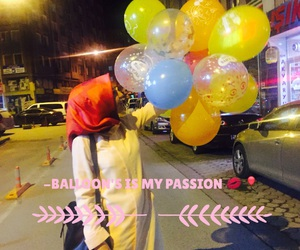 balloons, mypassion, and love image