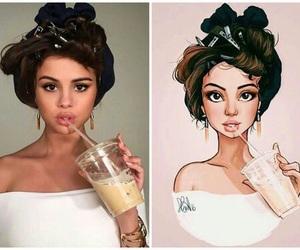 selena gomez, art, and draw image