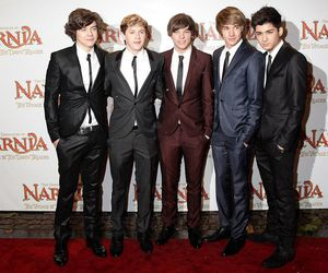 one direction and that cute look with suit image