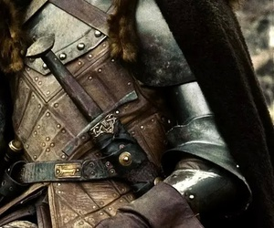 knight, sword, and armour image