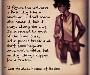 percy jackson, leo valdez, and house of hades image