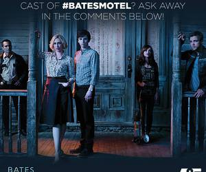 bates motel, olivia cooke, and max thieriot image
