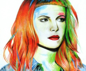 blue, hayley williams, and lights image