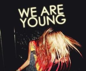 young, party, and hair image