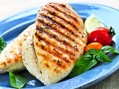 Chicken, diet, and meal image