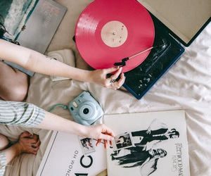 music, vintage, and photography image