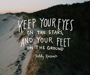 quotes, stars, and eyes image