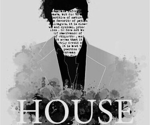 house, MD, and tv show image