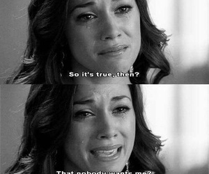 sad, one tree hill, and cry image