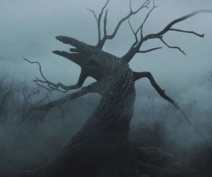 sleepy hollow, tim burton, and tree image