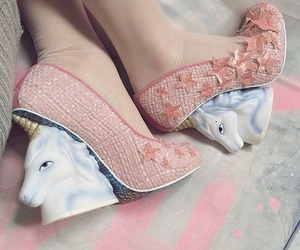 unicorn, shoes, and pink image