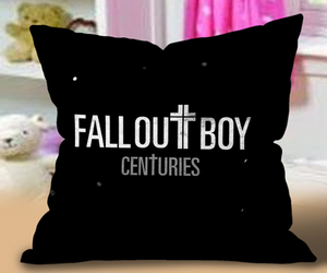 cases, fall out boy, and pillow image