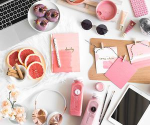 pink, food, and inspiration image