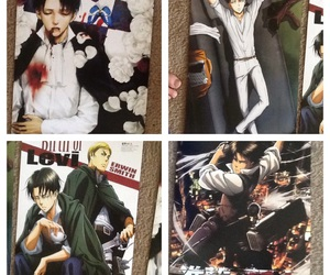 anime, posters, and attack on titan image