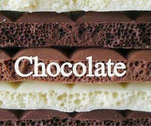 chocolate, food, and white image