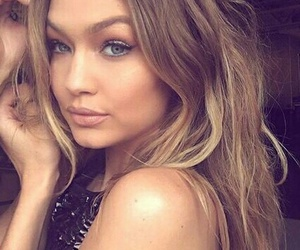 makeup, model, and gigi hadid image